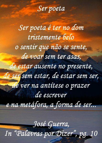 Ser poeta...