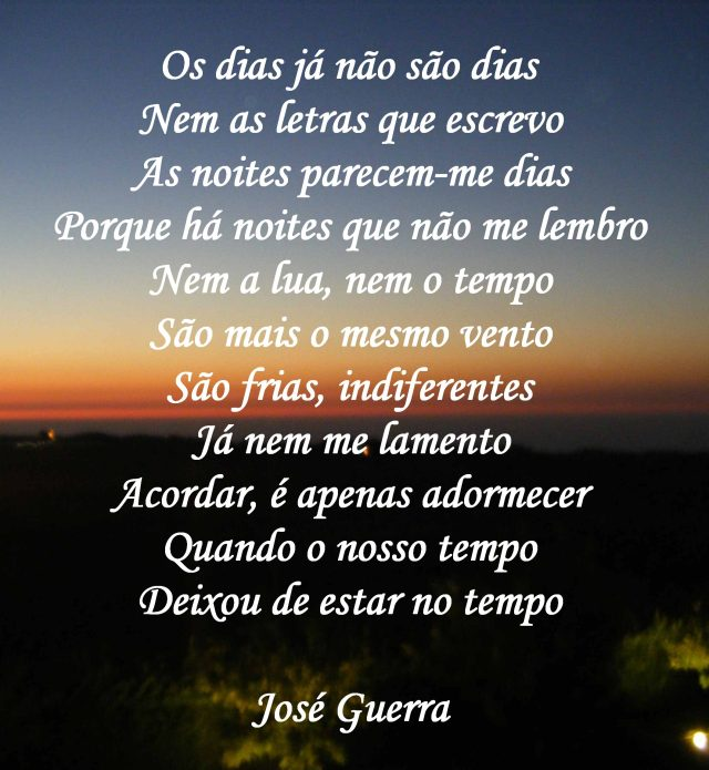 Poema do silêncio...