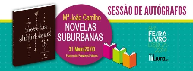 Novelas Suburbanas- Feira do Livro